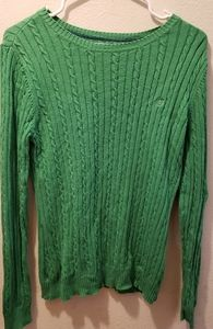 Green Izod sweater
